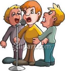 Singer clipart harmony