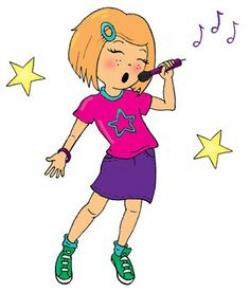 Microphone clipart girly