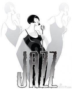 Singer clipart jazz singer