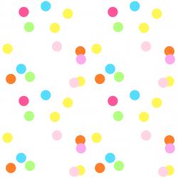 Dots clipart confetti