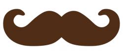 Cool clipart cartoon mustache