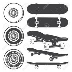 Drawn skateboard skateboard wheel