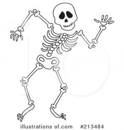 Pagan clipart skeletal system