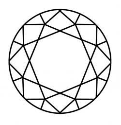 Drawn dying diamond
