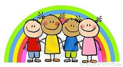 Child clipart friendship