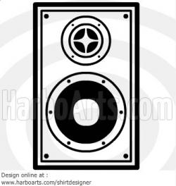 Speakers clipart vector art