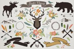 Lodge clipart winter season