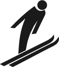Ski clipart ski jump