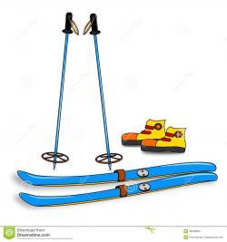 Ski clipart ski equipment