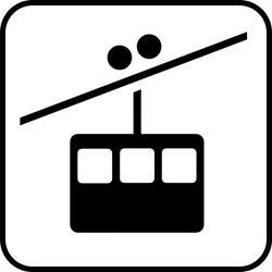 Ski clipart ski gondola