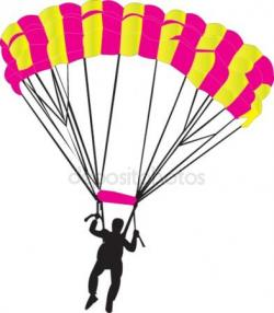 Skydiving clipart parasail