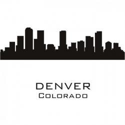 Denver clipart Denver Skyline