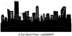 Miami clipart silhouette