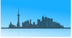 Towers clipart city skyline