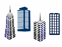 Towers clipart commercial building