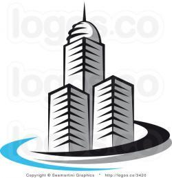 Skyscraper clipart company building