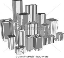 Skyscraper clipart downtown