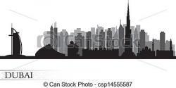 Cityscape clipart dubai city