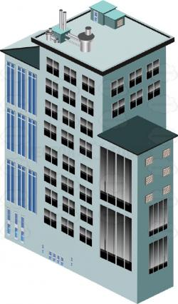 Skyscraper clipart office block