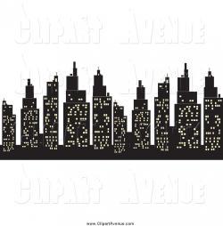 Urban clipart city light