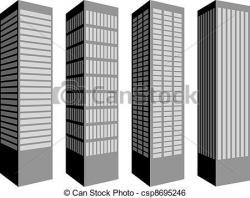 Skyscraper clipart vector