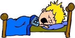 Dreaming clipart sleepy boy