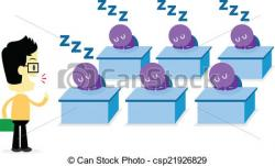Audience clipart lecturer