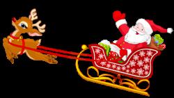 Sleigh clipart santa sleigh