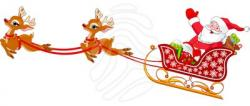 Sleigh clipart santa's slay