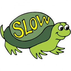Slow clipart