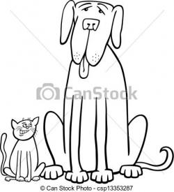 Larger clipart black and white