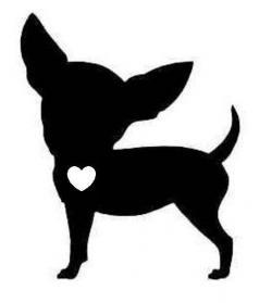 Chihuahua clipart profile