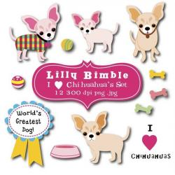 Chihuahua clipart birthday