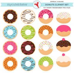 Dougnut clipart rainbow sprinkles