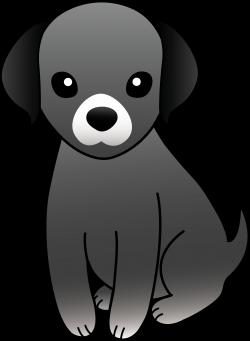 Beagle clipart black dog