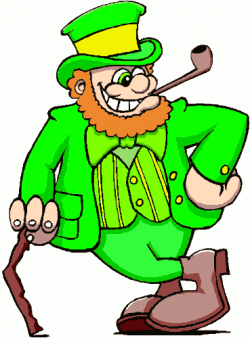 Pipe clipart leprechaun
