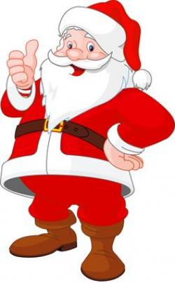 Traditional clipart father christmas