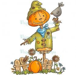 Scarecrow clipart paper
