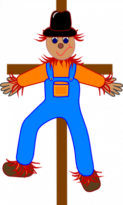 Scarecrow clipart cartoon