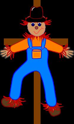 Scarecrow clipart cartoon
