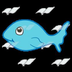 Fins clipart small fish
