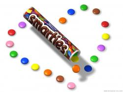 Smarties clipart purple