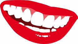 Lips clipart big smile