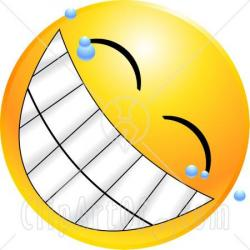 Grin clipart bright smile