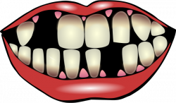Teeth clipart mouth tongue