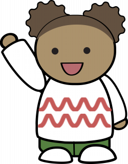 Hello! clipart wave bye