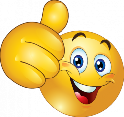 Emotions clipart thumbs up