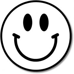 Smileys clipart excited face