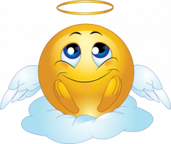 Smileys clipart angel