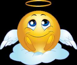 Smileys clipart angel